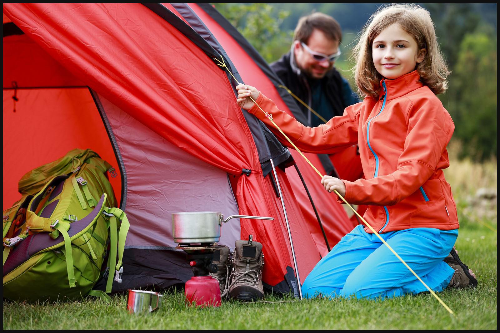 Отдых в палатках с детьми фото