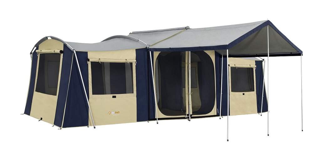 Chateau 10 Canvas Tent Getaway Outdoors
