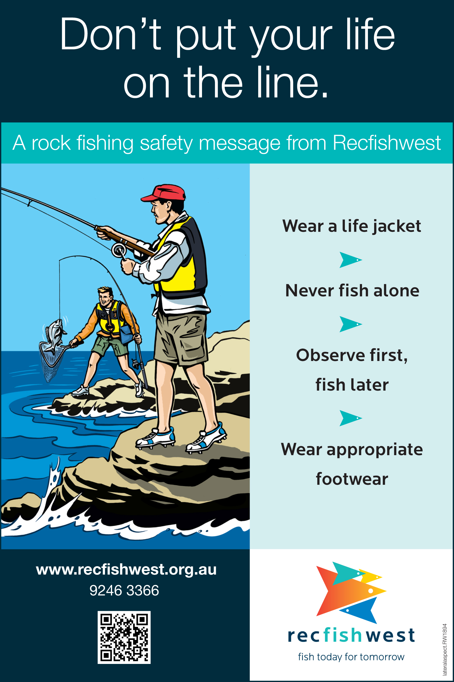 Rock Fishing Safety